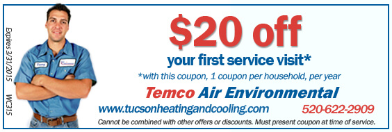 Save $20 on your next service visit!