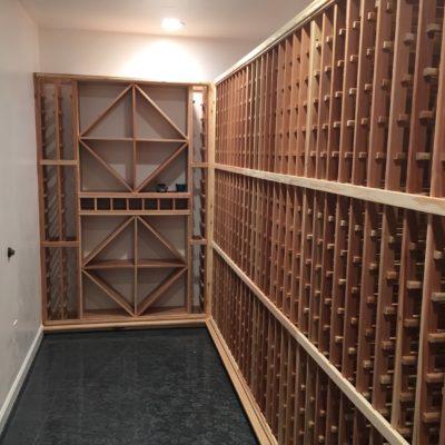 Wine Room Build