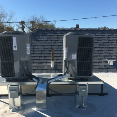 Roof Unit Install